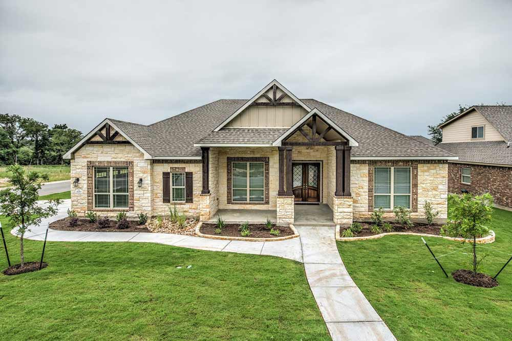 New Homes in Bluff at Dunn's Hollow