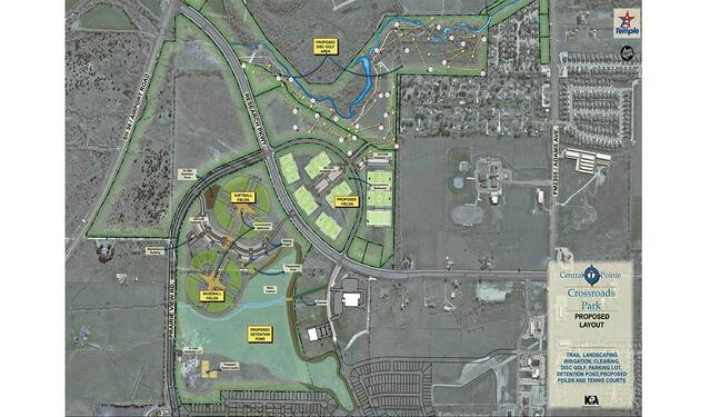 Crossroads Recreational Park Proposed Layout
