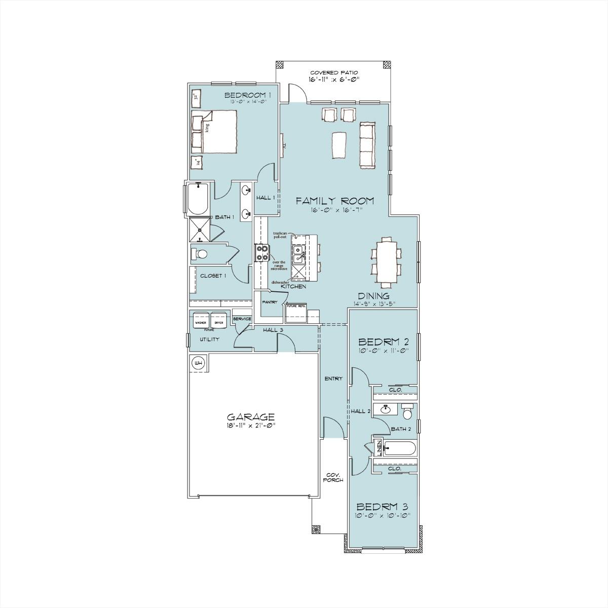 Westfield Village Homebuilders Charlotte Floor Plan