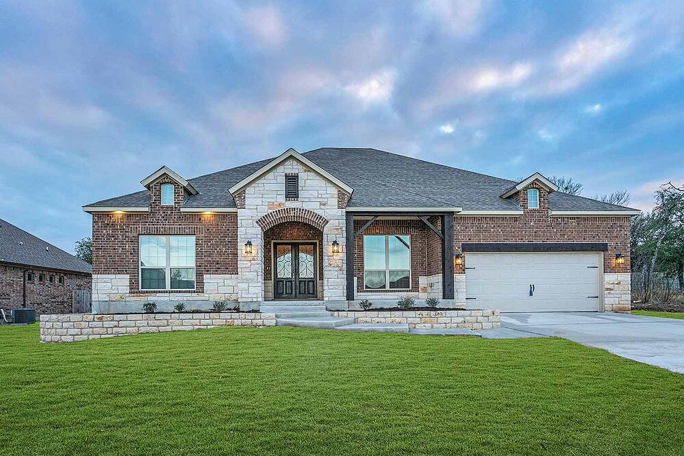 new homes in bluff at dunns hollow