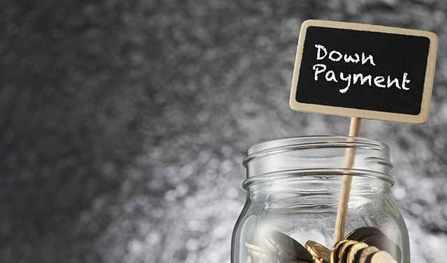 savings for down payment
