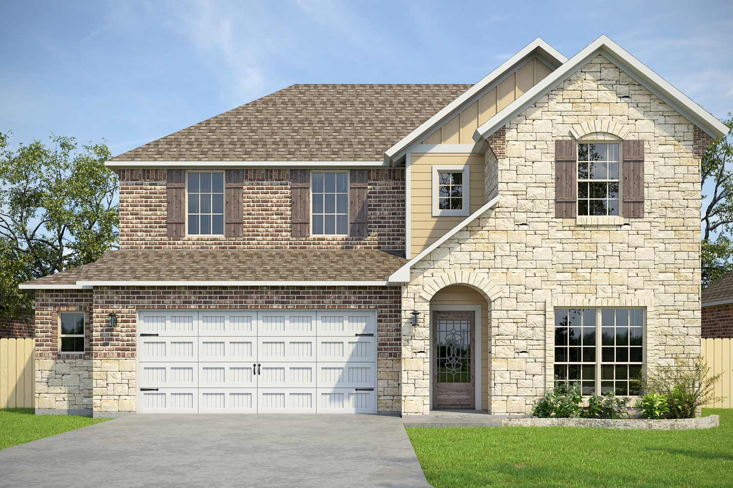 New Homes in Mission Ranch | 3652 Haskell Hollow Lp