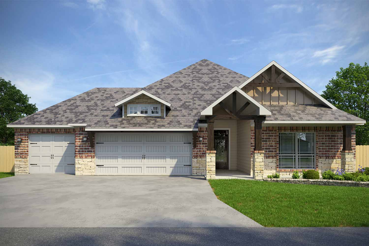 Home Builders Belton TX | Carrington Floor Plan