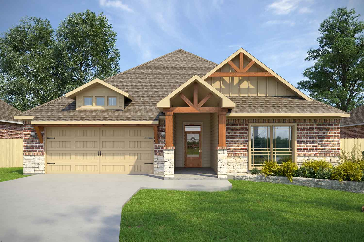 Builders in Mission Ranch | Covington Floor Plan