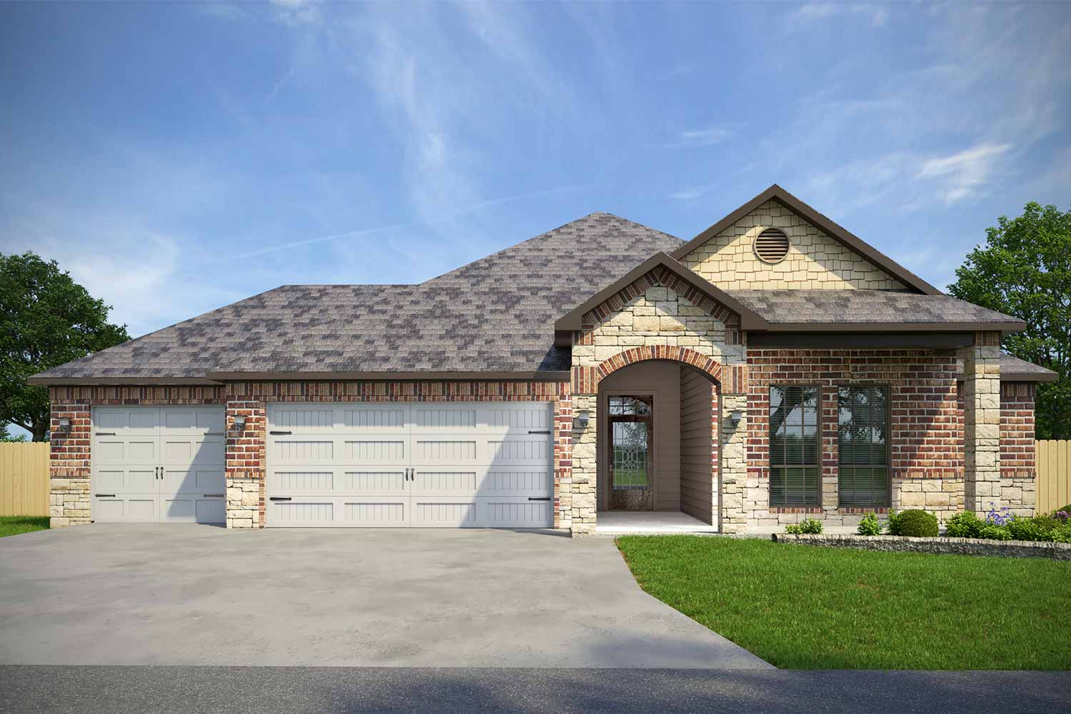 Home Builders Belton TX | Everhart Floor Plan