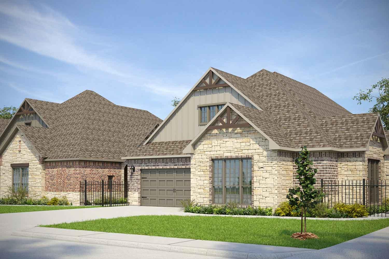 Home Builders in Georgetown TX   Newhall Floor Plan