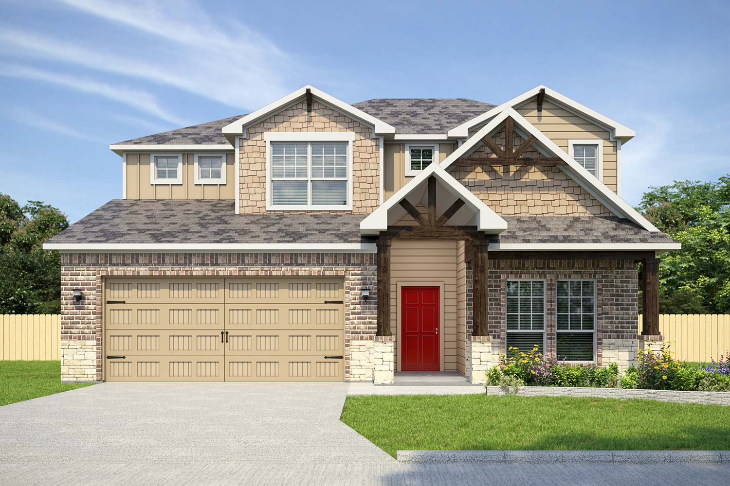 Home Builder Near Ft Hood | Ontario Floor Plan