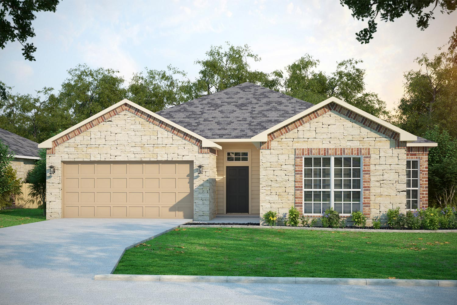 Temple TX Home Builders | Rivington Floor Plan