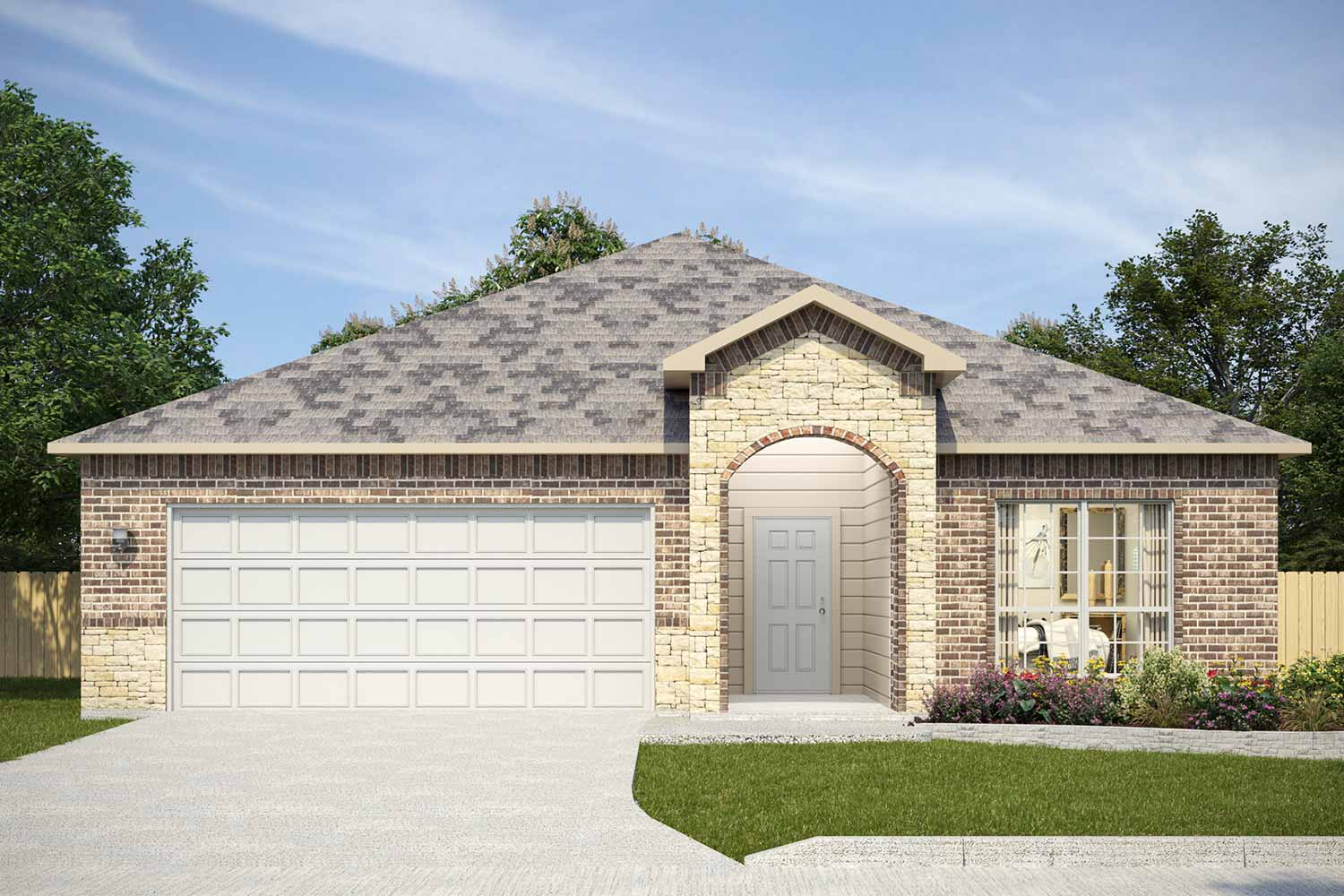 Homes Built in Temple TX | Fulton Floor Plan