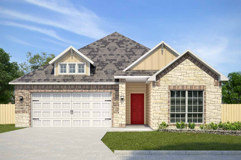 Built in College Station, TX | Gilman Floor Plan